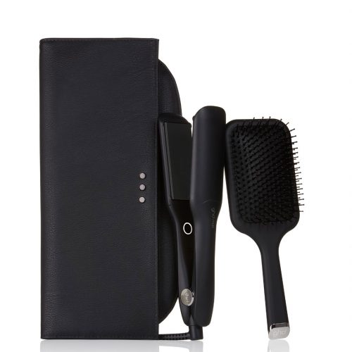 GHD MAX WIDE PLATE STYLER GIFT SET IN BLACK